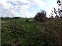 TM3669 : Footpath to the A1120 Yoxford Road by Adrian Cable