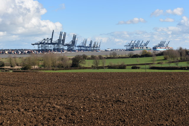 View from Oldhall Hill, Shotley