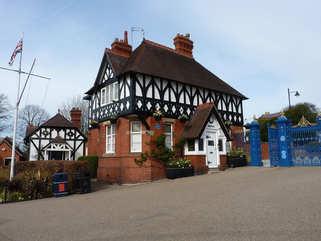 The Quarry park Lodge, Shrewsbury