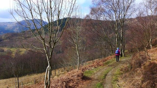 Path to Glen Finglas Reservoir