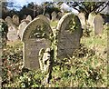 TG2408 : Gravestones and an angel by Evelyn Simak