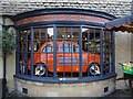 SP0937 : A Fiat in a shop window by Philip Halling