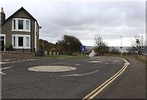 NO4102 : Roundabout in Lundin Links by Bill Kasman
