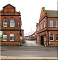 SK1109 : Entrance to the former Lichfield Brewery site, Lichfield by Jaggery