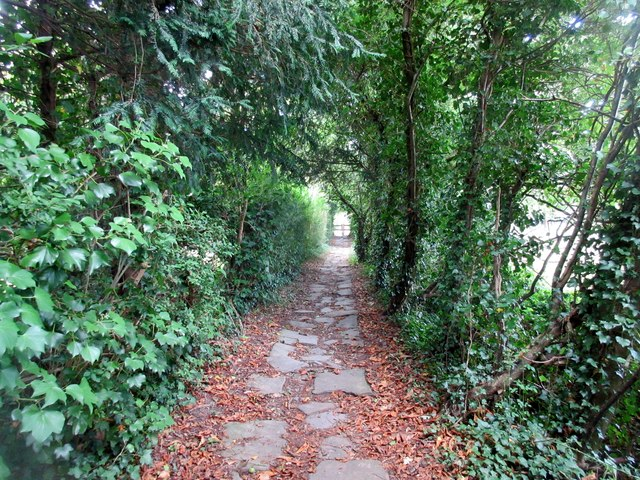 Footpath to Ifield Road (1)