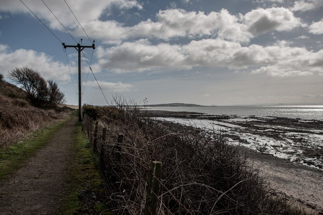 Fife Coast Path at Lower Largo