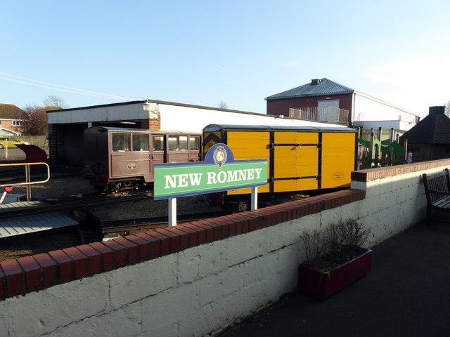 New Romney Railway Sign