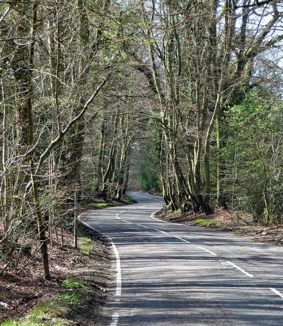 Collum Green Road near Hedgerley
