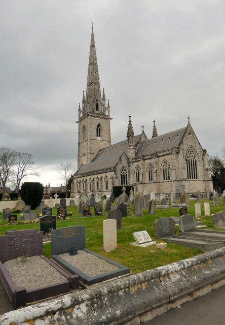 St Margaret's church, Bodelwyddan - the Marble Church