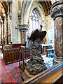 SJ0075 : Eagle Lectern, St Margaret's Church by Gerald England