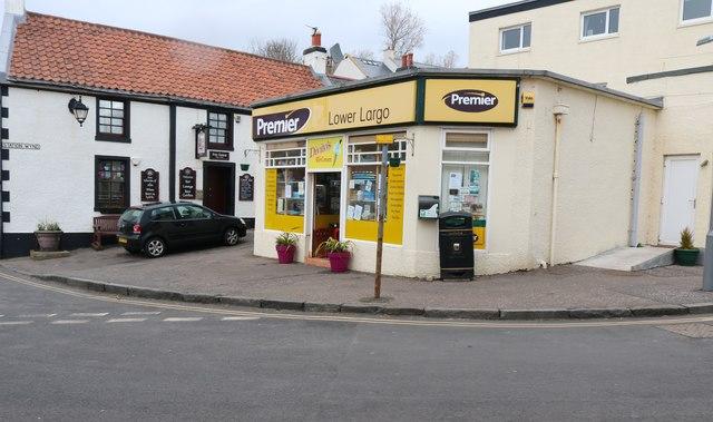 Corner shop, Lower Largo