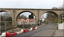 NO4102 : Railway Viaduct, Lower Largo by Bill Kasman
