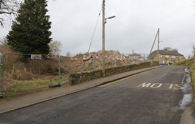 Demolition site, Lower Largo