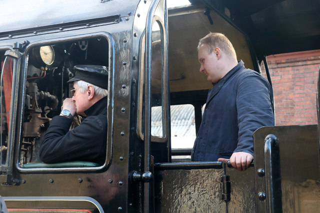 Severn Valley Railway - driver and fireman