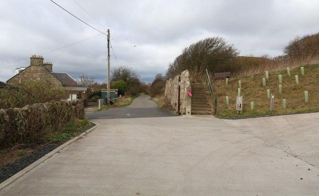 The Serpentine Walk, Lower Largo