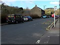 ST1190 : Black van parked in Commercial Street, Senghenydd by Jaggery