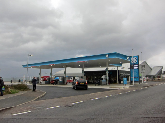 New petrol station open!