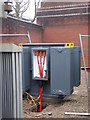 SO8754 : Worcestershire Royal Hospital - heavy duty wiring by Chris Allen
