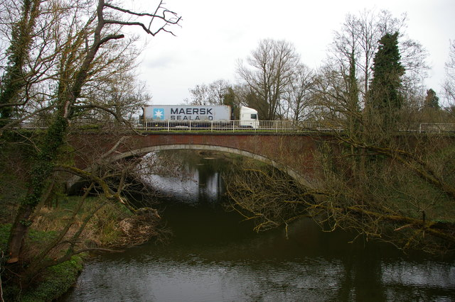 Stratford Bridge, over the River Stour