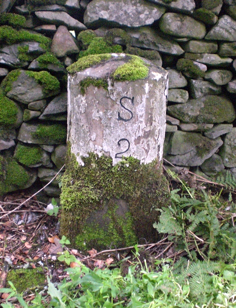 Old Milestone near Rash
