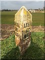 SD4511 : Old milemarker by the Leeds & liverpool Canal by Milestone Society