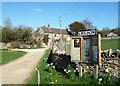SP3119 : Parish Notices, Chilson by Des Blenkinsopp