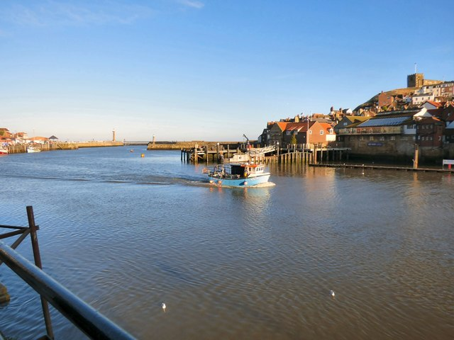 River Esk at Whitby