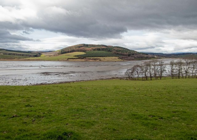 Munlochy Bay at low tide