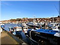 NZ9010 : Whitby Upper Harbour by Gerald England