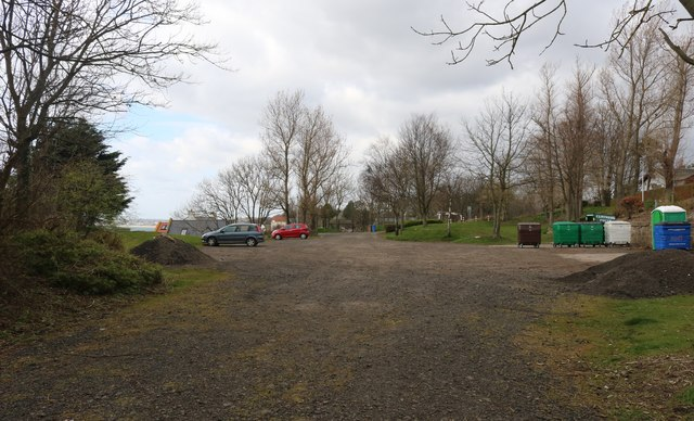 Rough car park, Lower Largo