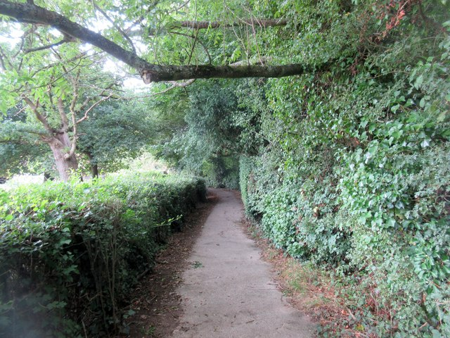Footpath to Rectory Lane