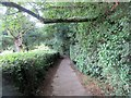 TQ2341 : Footpath to Rectory Lane by Peter Holmes
