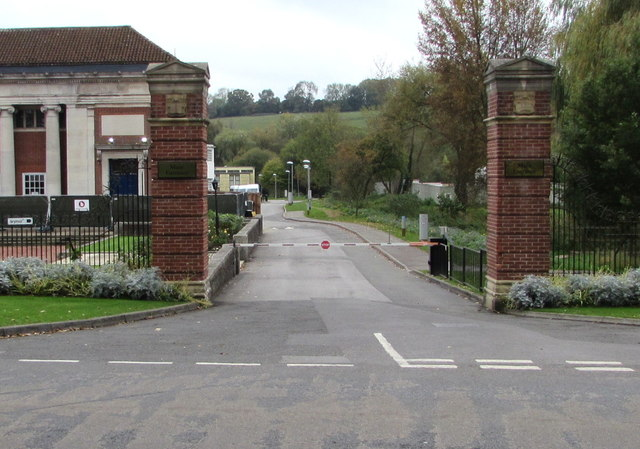 Main entrance to Marlborough College