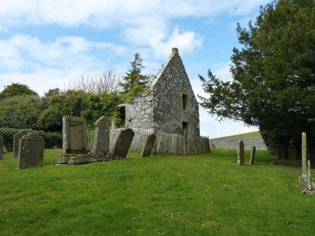 Ruins of Creich church