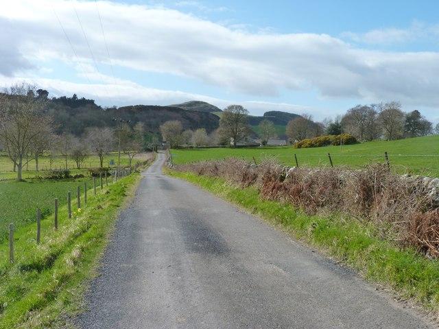 Back road near Brunton