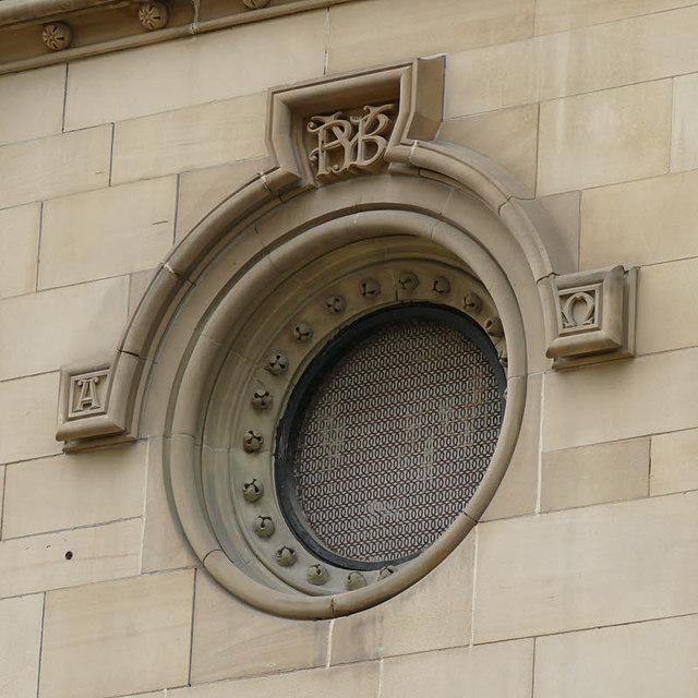 Aspire, Infirmary Street, Leeds - round window