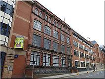 SE2933 : Office buildings on Queen Street, Leeds  by Stephen Craven