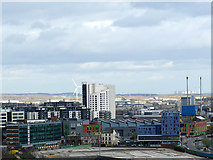 SE3032 : View east-south-east from Granary Wharf by Stephen Craven