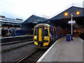 NH6645 : A class 158 train at Inverness by John Lucas