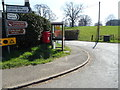 SO5085 : Elizabeth II postbox and telephone box, Diddlebury by JThomas