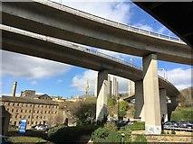 SE0925 : Halifax road bridges and mills by Graham Hogg