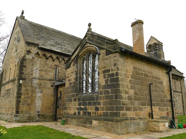 St John's church, Adel - vestry