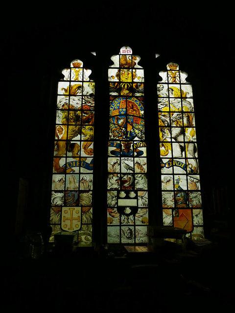St John's church, Adel - Vestry window