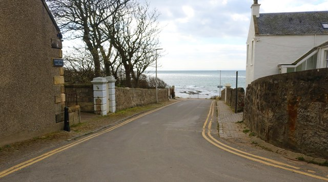 Main Street, Lower Largo by Bill Kasman