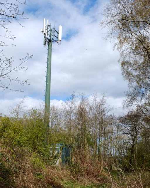 Comms Tower near Manor Farm, Clifton Moss