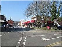 SP2871 : Station Road Shops Kenilworth by Roy Hughes