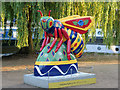 SJ8397 : Bee in the City #54, Lock Keeper's Bee by David Dixon