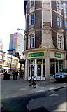 ST3188 : Plaid Cymru/Party of Wales office on a city centre corner, Newport by Jaggery