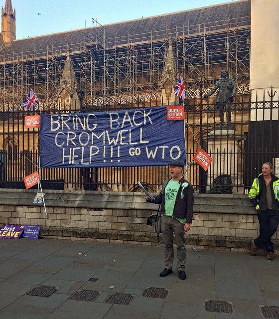 Brexit demo, St Margaret Street