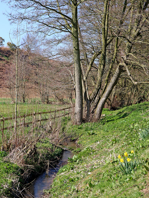 Nurton Brook east of Pattingham in Staffordshire